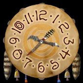 Tribal Clock 4x4