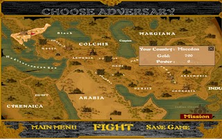 Screenshot of Alexander the Great