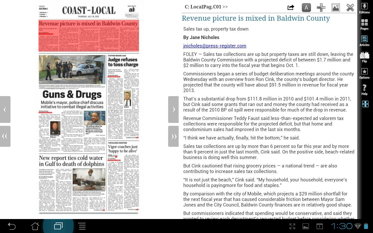 The Press-Register - screenshot