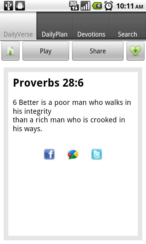 Daily Bible - screenshot