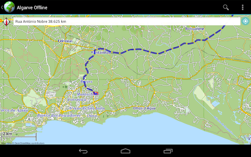 Offline Map Algarve Portugal Android Apps On Google Play - Portugal map app