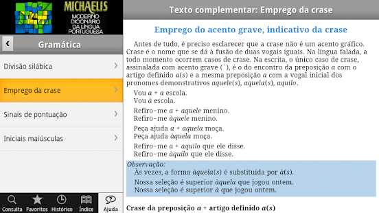 Dicionário Michaelis Português- screenshot thumbnail
