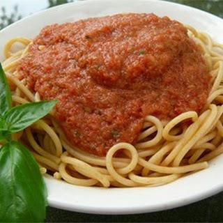 Cold Spaghetti.