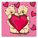 Teddy live wallpapers HD love icon