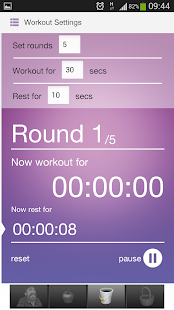 HIIT Workout Timer - screenshot thumbnail