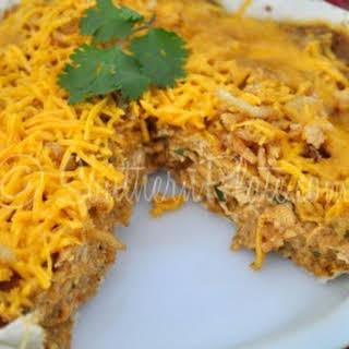 Microwave Chicken Tortilla Casserole.