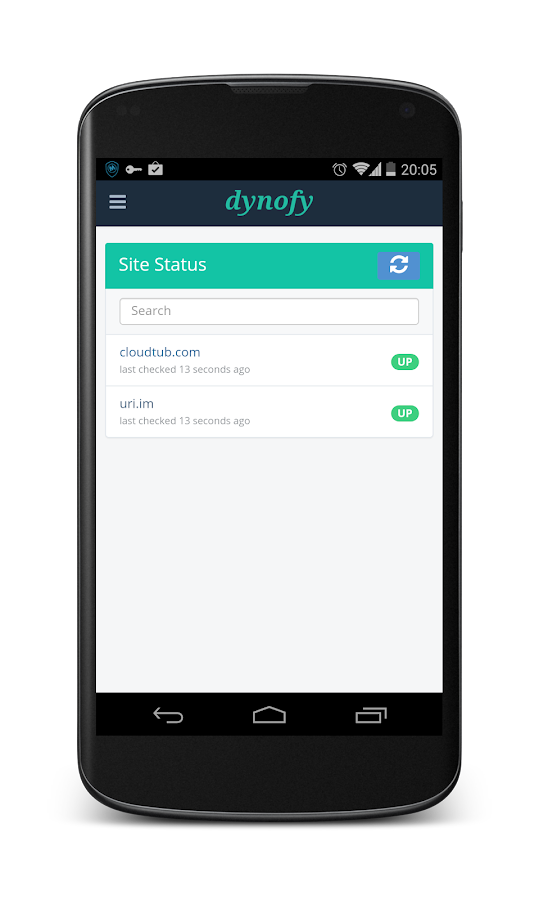 Dynofy- screenshot