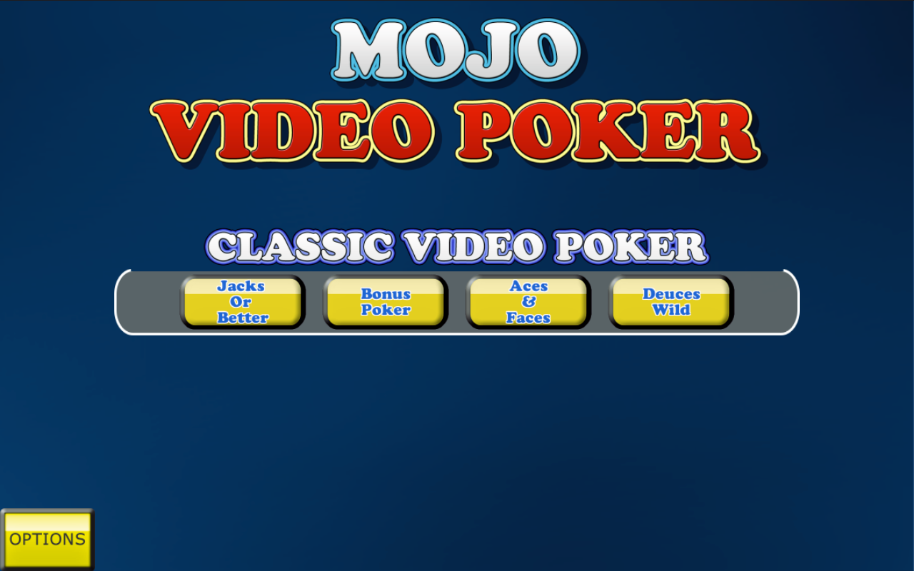 Mojo Video Poker- screenshot