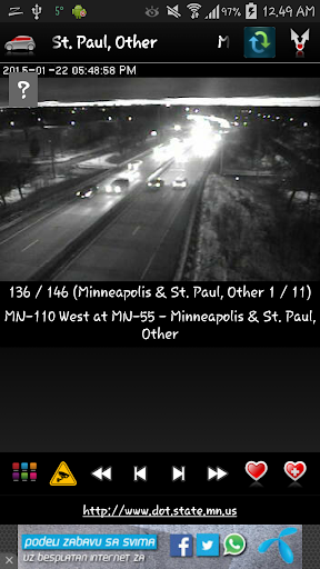 Cameras Minnesota - Traffic