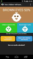 Screenshot of Eyes Color Calculator
