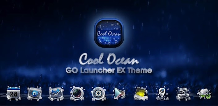 CoolOcean GO LauncherEX Theme apk