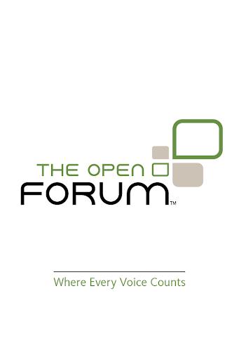 The Open Forum