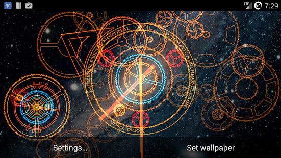 Hypno Clock Live Wallpaper PRO