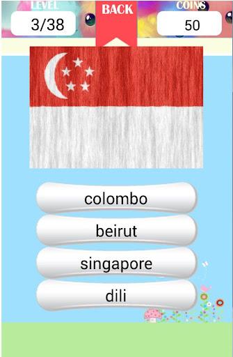 Asian capitals quiz