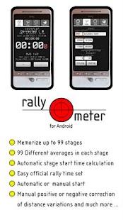 RallyMeter Historic rally tool- screenshot thumbnail