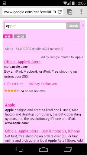 玩免費工具APP|下載Google検索ピンク app不用錢|硬是要APP