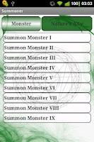 Screenshot of Summoner PF RPG Lite