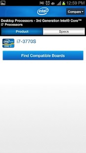 Intel Channel Products Guide - screenshot thumbnail