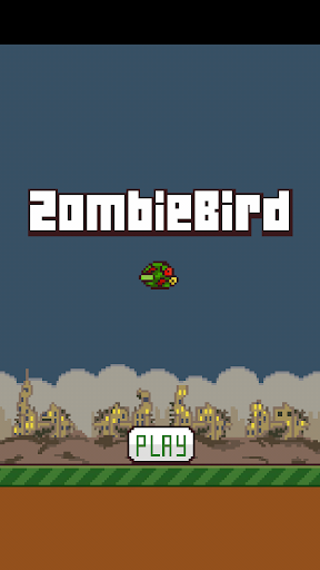 Zombie Flying Bird