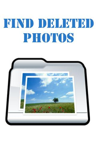 Find Deleted Photos