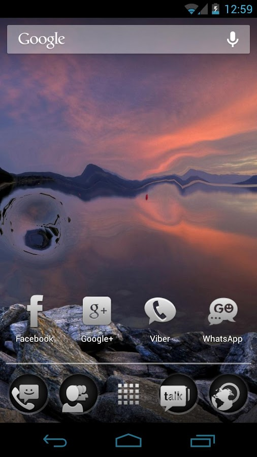 Waterize Live Wallpaper - screenshot