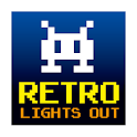 Retro Lights Out logo