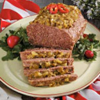 Spicy Meat Loaf.
