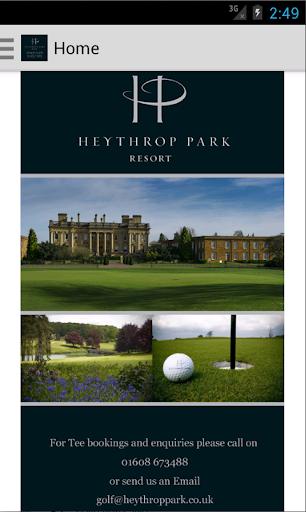 Heythrop Park