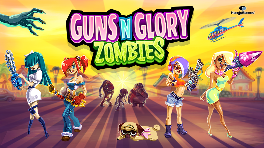 Guns'n'Glory Zombies - screenshot