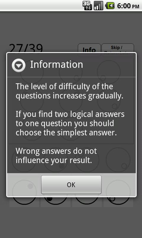 Best IQ Test - screenshot