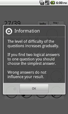 Best IQ Test 2.2 screenshot 639779