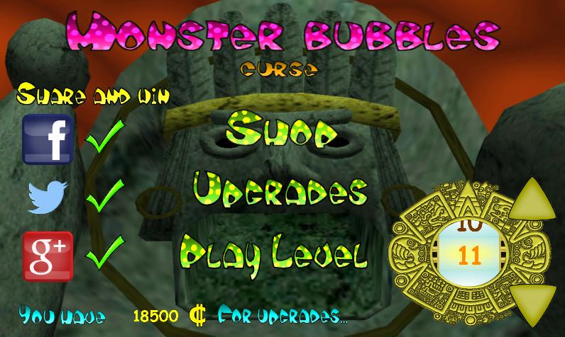 Monster Bubbles Curse (Pang) screenshot #4
