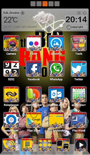 GLE theme The Big Bang Theory