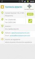Screenshot of Farmácias de Serviço .net