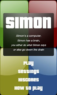 Simple Simon- screenshot thumbnail