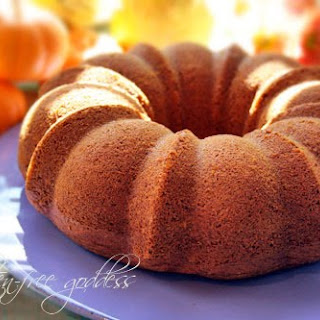 Gluten-Free Pumpkin Bundt Cake.