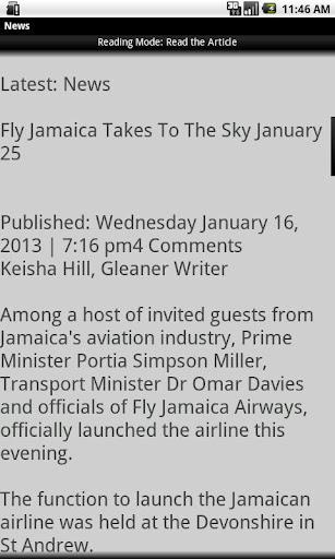 【免費新聞App】Jamaican News-APP點子