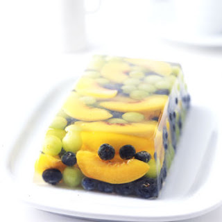 Prosecco and Summer Fruit Terrine.
