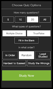 StudyBlue Flashcards & Quizzes - screenshot thumbnail