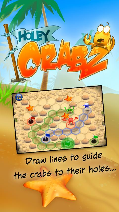 Holey Crabz Free- screenshot