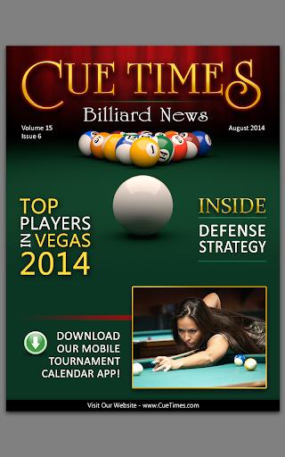 【免費運動App】Cue Times Billiard News-APP點子