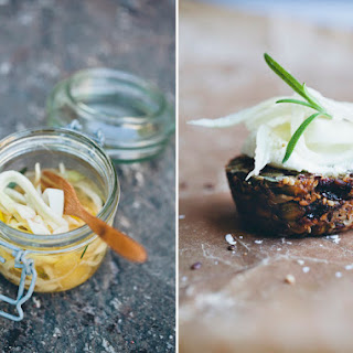 Paleo Bread + Quick Pickled Fennel