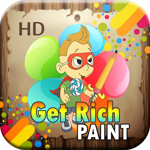 Coloring & Get Rich Game LOGO-APP點子