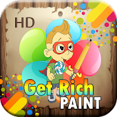 Coloring & Get Rich Game
