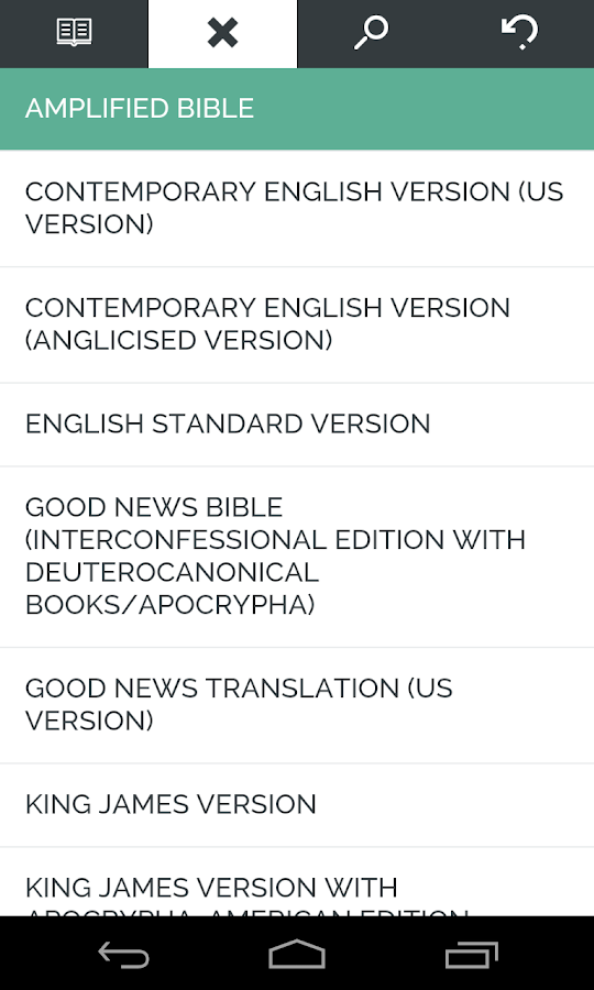 Bible Reader- screenshot