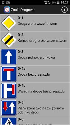 Poznaj znaki drogowe - screenshot