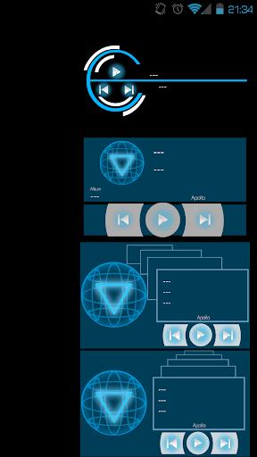 FutureTech UI Music Widgets