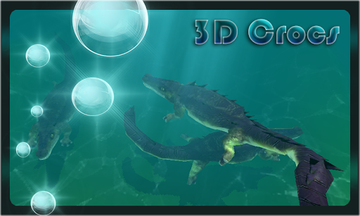 Crocodile Aquarium 3D LWP HD