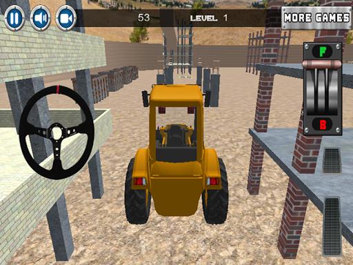 建設車のゲーム
