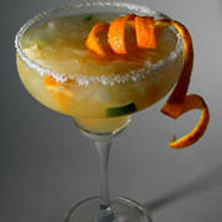Lime-Orange Non-Alcoholic Margaritas